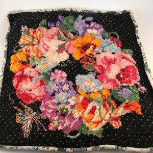 Cross stitch pillow case